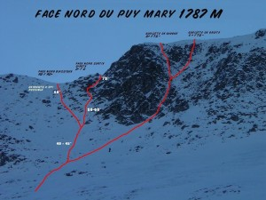 Face Nord du Puy Mary